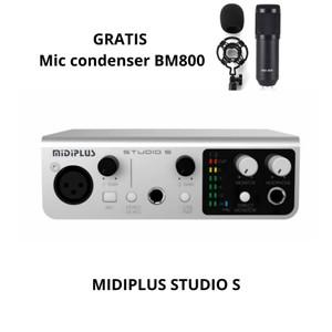 Harga soundcard midiplus studio s solo midi plus audio interface | HARGALOKA.COM