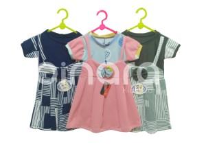 Harga dress atasan anak perempuan kekinian model dress lolita   6 12 | HARGALOKA.COM