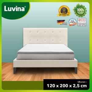 Harga luvina kasur topper matras kesehatan natural latex 120x200x2 5cm   | HARGALOKA.COM