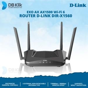 Harga router d link dir x1560 exo ax ax1500   dlink dir x1560 mesh wi fi | HARGALOKA.COM