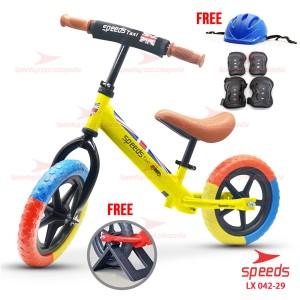 Harga sepeda anak sepeda mini speeds taxi balance bike kick bike 042 28   kuning | HARGALOKA.COM