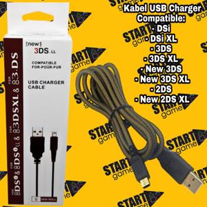 Harga kabel usb charger nintendo dsi dsixl 3ds new3ds new3dsxl 2ds | HARGALOKA.COM