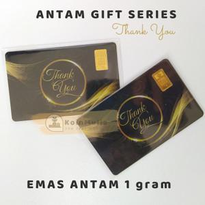 Harga gift series antam 1 gram thank you emas antam 1 gr logam mulia   non | HARGALOKA.COM