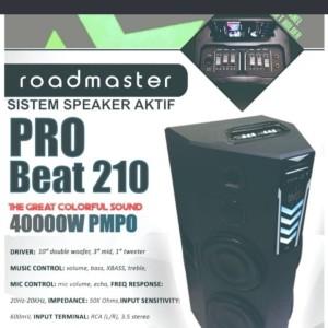 Harga speaker roadmaster pro beat | HARGALOKA.COM