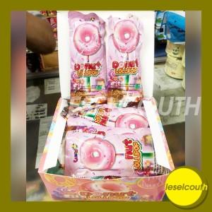 Harga permen donut lollipop permen donat nyala permen donat isi   HARGALOKA.COM