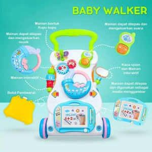 Harga mainan bayi dorong baby push walker alat bantu bayi jalan imundex   | HARGALOKA.COM