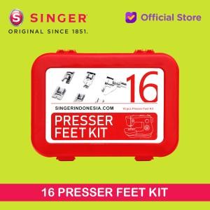 Harga sepatu mesin jahit 16 macam 16 presser feet | HARGALOKA.COM
