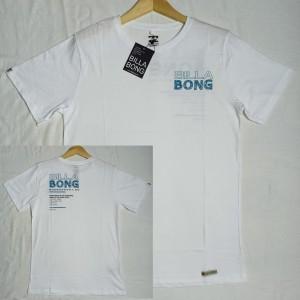 Harga baju kaos pria billabong original distro warna putih   putih   HARGALOKA.COM