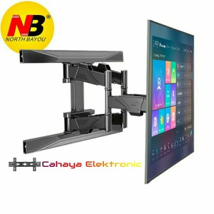 Harga bracket led tv wall mount p6 new model 40 sampai 70 inch tilt | HARGALOKA.COM