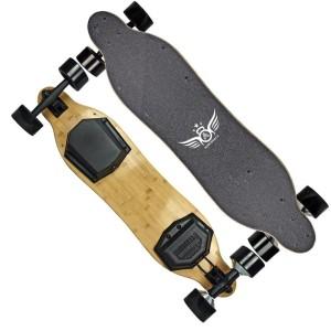 Harga electric skateboard apsuboard v3 dual hub motor skate board   HARGALOKA.COM