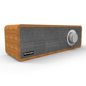 Harga wood speker bluetooth speaker portable stereo soundbar tv pc | HARGALOKA.COM