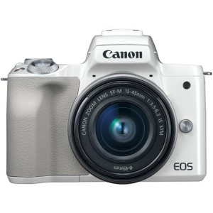 Harga camera canon eos m 50 with lens ef m 15 45mm is stm   unit only   HARGALOKA.COM