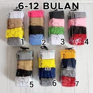Harga legging bayi cotton rich tights polos legging baby carter isi 4 in 1   0 6 bulan nomor   HARGALOKA.COM