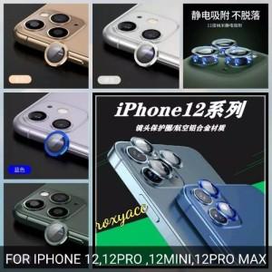Harga ring metal pelindung lensa kamera iphone 1212 mini 12 pro max tempered   gold iphone 12 | HARGALOKA.COM