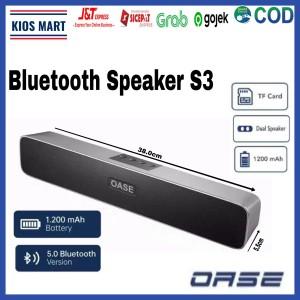 Harga speaker bluetooth oase s3 garansi resmi oase oppo indonesia   s3 | HARGALOKA.COM