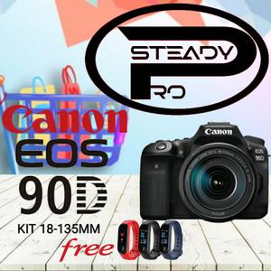 Harga kamera canon eos 90d kit 18 135mm original garansi 1   HARGALOKA.COM