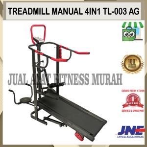 Harga alat fitness treadmill manual 4 fungsi tl 003 ag | HARGALOKA.COM