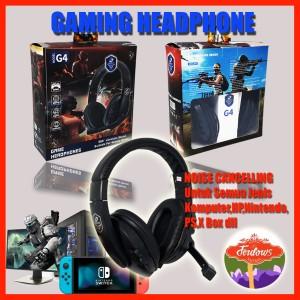 Harga gaming headset headphone henset murah handset hedset microphone     HARGALOKA.COM