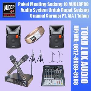 Harga paket sound system untuk aula sedang 10 auderpro berkualitas | HARGALOKA.COM