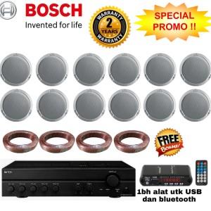 Harga paket speaker ceiling bosch isi 12unit original | HARGALOKA.COM