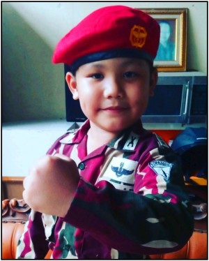 Harga baju loreng kopassus anak kostum profesi pasukan khusus kopassus   | HARGALOKA.COM