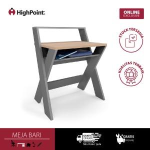 Harga highpoint meja kerja minimalis unik   bari   tanpa instalasi | HARGALOKA.COM