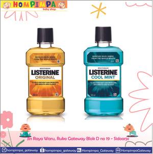 Harga listerine original mouthwash obat kumur 500 ml   original 500 | HARGALOKA.COM