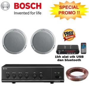 Harga paket speaker ceiling bosch isi 2unit original | HARGALOKA.COM