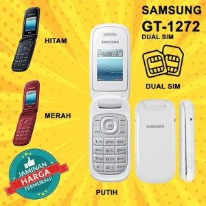 Harga hp hape handphone jadul samsung 1272 dual sim baru new murah 3     HARGALOKA.COM