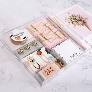 Harga light pink stationery set alat tulis set kado lucu gift | HARGALOKA.COM