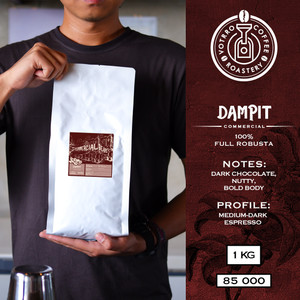 Harga biji kopi 100 full robusta dampit roasted commercial   best | HARGALOKA.COM