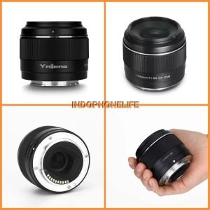 Harga yongnuo lens yn 50mm f1 8s da dsm lensa for kamera sony e mount | HARGALOKA.COM