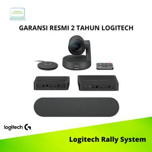 Harga logitech rally system ultra hd uhd video conference original dan resmi   | HARGALOKA.COM