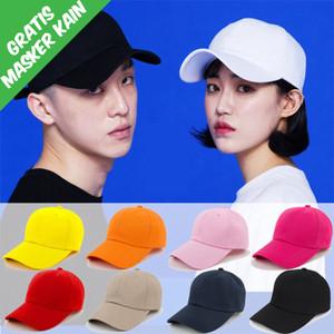 Harga topi baseball polos distro pengait besi termurah   | HARGALOKA.COM