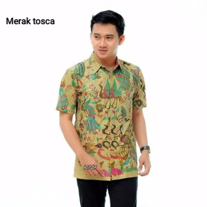 Harga kemeja batik pria pekalongan baju batik pria lengan | HARGALOKA.COM