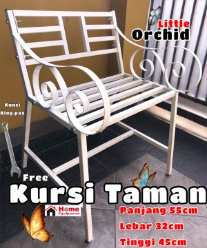 Harga kursi taman minimalis single kursi teras kuat kokoh murah berkualitas   | HARGALOKA.COM