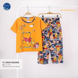 Harga baju tidur anak perempuan babydoll piyama set cp anak bahan kaos 468   at062 4   HARGALOKA.COM
