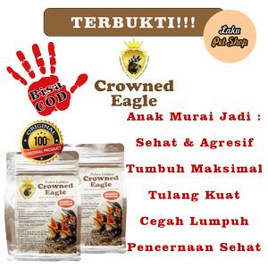 Harga makanan burung premium   lolohan murai batu   crowned | HARGALOKA.COM