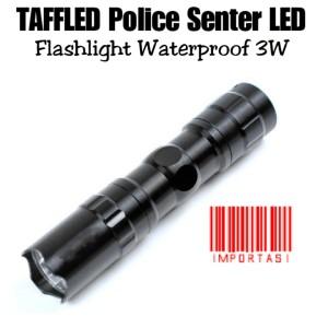 Harga taffled police senter led flashlight waterproof torch lampu | HARGALOKA.COM