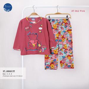 Harga baju tidur anak perempuan babydoll piyama set pp anak bahan kaos 468   at062 8   HARGALOKA.COM