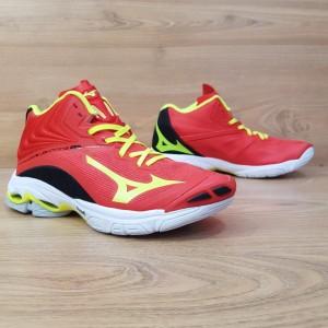 Harga bisa cod sepatu voli mizuno wave lightning z 6 mid red premium impor   red | HARGALOKA.COM