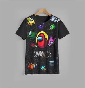 Harga kaos anak among us v1 baju anak among us v1 9 12 tahun   9 10 | HARGALOKA.COM