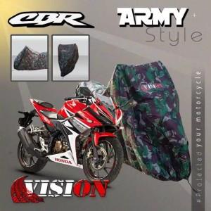 Harga sarung body motor cover body motor vision honda cbr150 bahan tebal100     HARGALOKA.COM