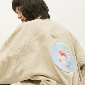 Harga nona harajuku corduroy jacket   tokopedia fashion | HARGALOKA.COM