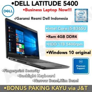 Harga laptop dell latitude 5400 core i5 8365u 4gb 1tb 14 34 windows 10 ori   4gb | HARGALOKA.COM