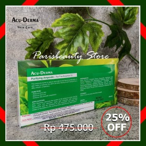 Harga serum wajah acu derma purifying untuk kulit berjerawat amp berminyak   1 | HARGALOKA.COM