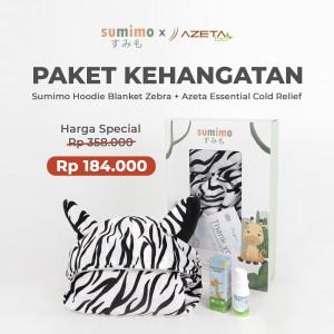 Harga paket kehangatan sumimo hoodie blanket amp azeta essential cold | HARGALOKA.COM