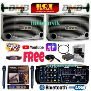 Harga paket speaker karaoke set bmb 10 inch sound system super i   HARGALOKA.COM