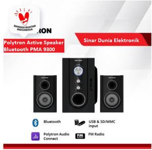 Harga polytron active speaker bluetooth pma 9300 promo murah garansi   HARGALOKA.COM