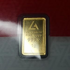Harga emas batangan emas lotus archi certi eye logam mulia   1 | HARGALOKA.COM